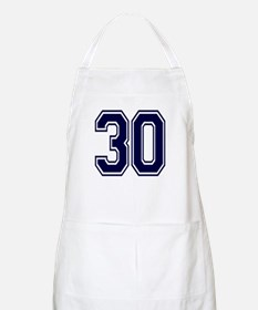 NUMBER 30 FRONT BBQ Apron