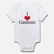 I Love (Heart) Gammie Infant Bodysuit