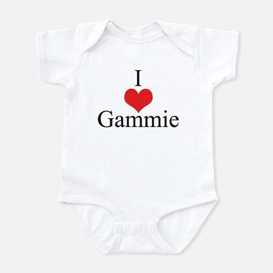 I Love (Heart) Gammie Infant Bodysuit