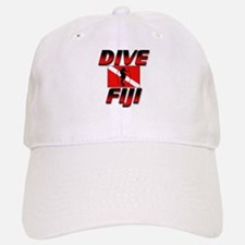 Dive Fiji (red) Baseball Baseball Cap #2