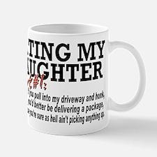 Rule #1 for datingmy daughter Mug