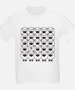 Samoyed and Sheep T-Shirt