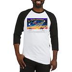 XmasSunrise/Papillon #1 Baseball Jersey