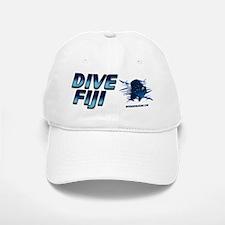 Dive Fiji (blue) Baseball Baseball Cap #1