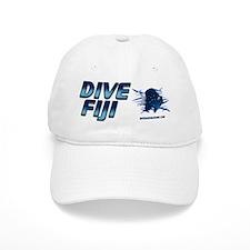 Dive Fiji (blue) Baseball Cap #1