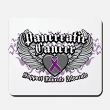 Pancreatic Cancer Wings Mousepad