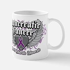 Pancreatic Cancer Wings Mug