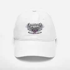 Pancreatic Cancer Wings Baseball Baseball Cap