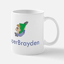 Brayden - Super Hero Cartoon Mug