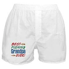 Best Fishing Grandpa Ever! Boxer Shorts