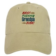 Best Fishing Grandpa Ever! Baseball Cap