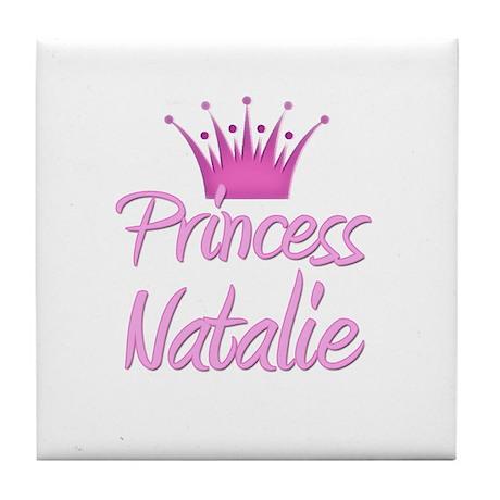 Princess Natalie Tile Coaster
