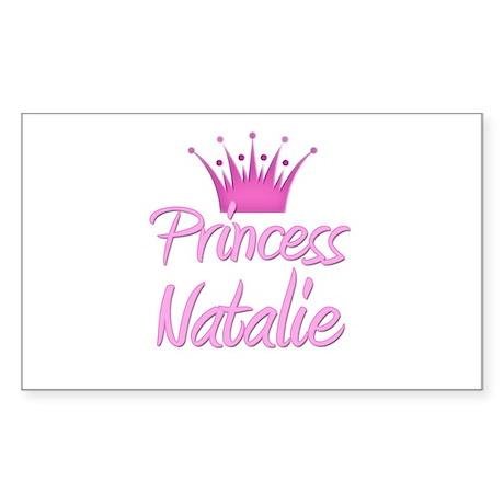 Princess Natalie Rectangle Sticker