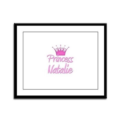 Princess Natalie Framed Panel Print