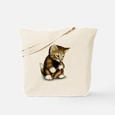 Cute Christmas music Tote Bag