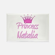 Princess Natalia Rectangle Magnet