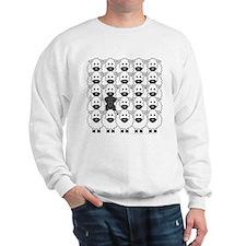 Schnauzer and Sheep Sweatshirt