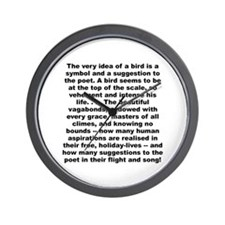 Cute Atheist science Wall Clock