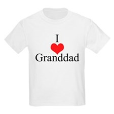 I Love (Heart) Granddad T-Shirt
