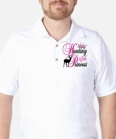Hunting Princess Golf Shirt