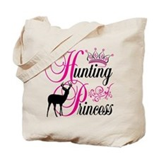 Hunting Princess Tote Bag