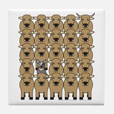 ACD and Cattle Tile Coaster