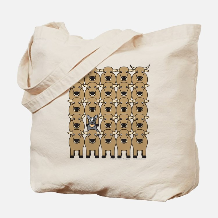 ACD and Cattle Tote Bag