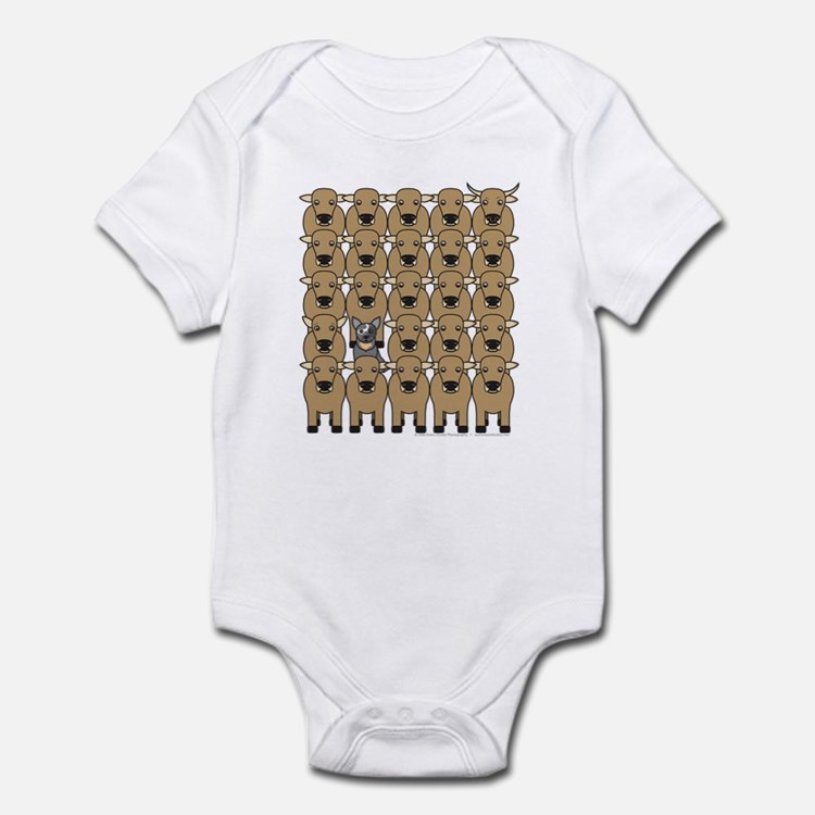 ACD and Cattle Infant Bodysuit