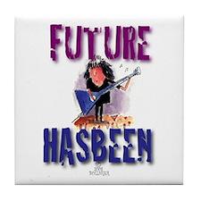 Future Guitarist Tile Coaster