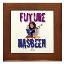 Future Guitarist Framed Tile