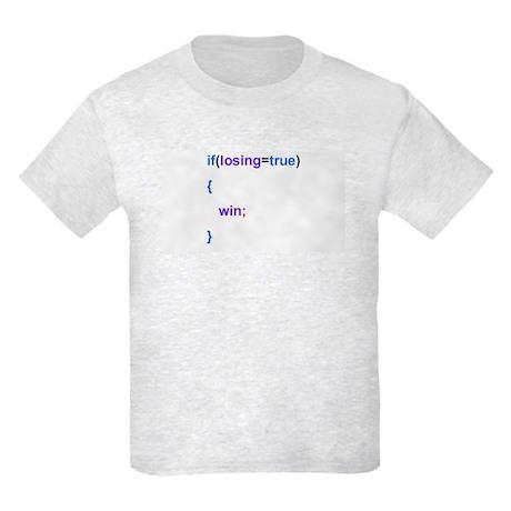 Programmed to Win Kids Light T-Shirt