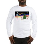 XmasSigns/Old English #3 Long Sleeve T-Shirt
