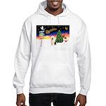 XmasSigns/Old English #3 Hooded Sweatshirt