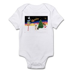 XmasSigns/Old English #3 Infant Bodysuit