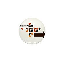 Cute Polka Mini Button (10 pack)