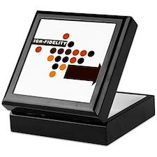 Unique Polka dot Keepsake Box