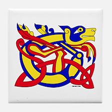 Lion of Kells Tile Coaster