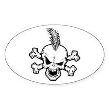 Moe Hawkins Oval Bumper Stickers