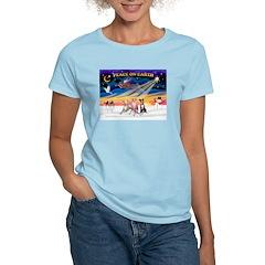 XmasSunrise/3 Whippets T-Shirt