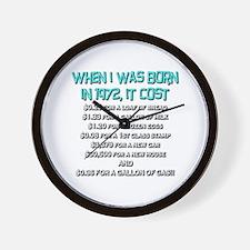 Price Check 1972 Wall Clock