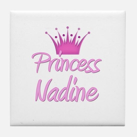Princess Nadine Tile Coaster