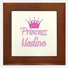Princess Nadine Framed Tile