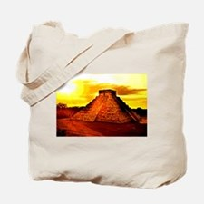 /mayan Temple Tote Bag