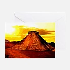 /mayan Temple Greeting Cards (Pk of 10)