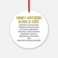 Price Check 1971 Ornament (Round)