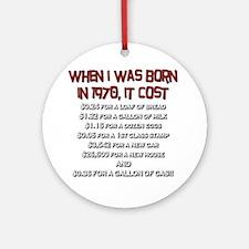 Price Check 1970 Ornament (Round)