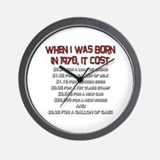 Price Check 1970 Wall Clock