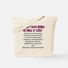 Price Check 1969 Tote Bag