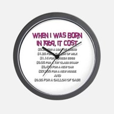 Price Check 1969 Wall Clock