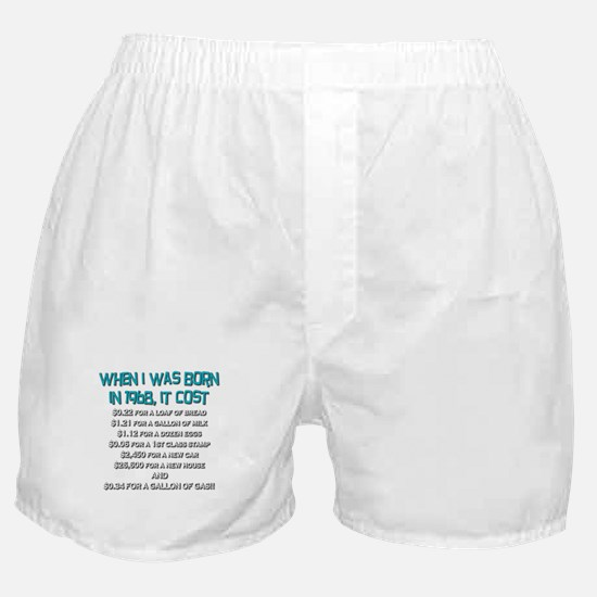 Price Check 1968 Boxer Shorts